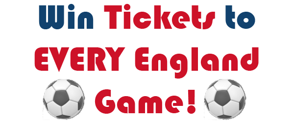 Win Tickets to EVERY England Game